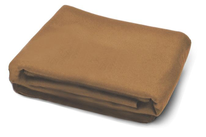 Camel beige 4 x 8 pool table replacement cloth