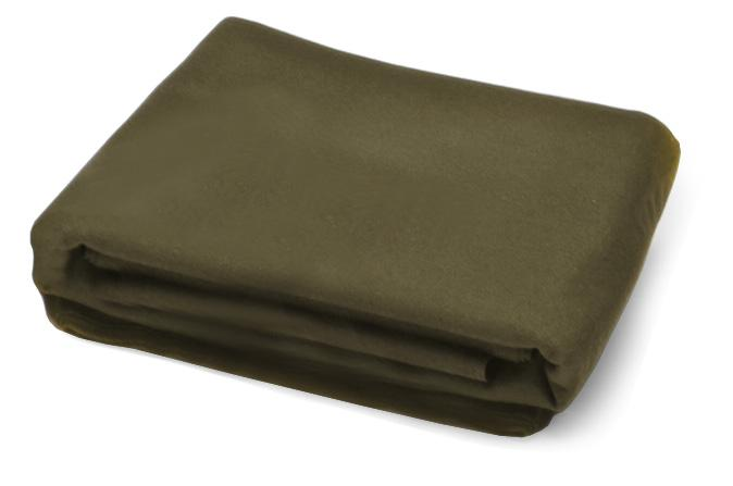Olive Green 4 x 8 pool table replacement cloth