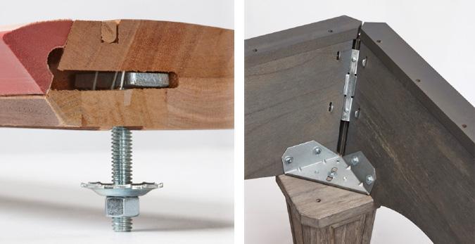Table de billard rustique 8 pieds Brunswick Allenton fini bois agé