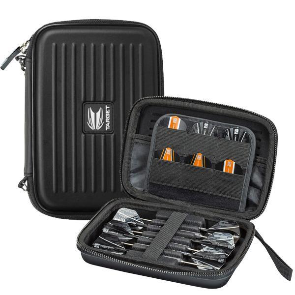 Target Takoma XL black rigid dart case for 2 sets