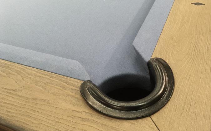 Table de billard Mensa noyer rustique 8 pieds vraie ardoise garantie 25 ans
