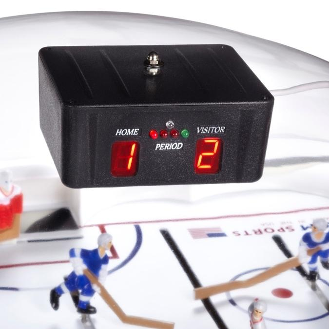 Black stick dome hockey game table