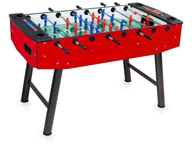 Table babyfoot soccer niveau professionnel Palason Action Rouge