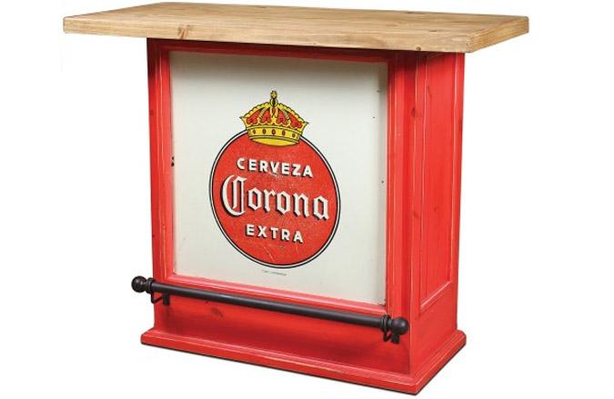 Corona 50 inch rustic red residential bar