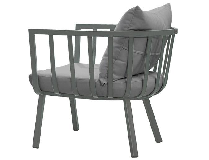 Martina Club outdoor garden chair with Sunbrella fabric