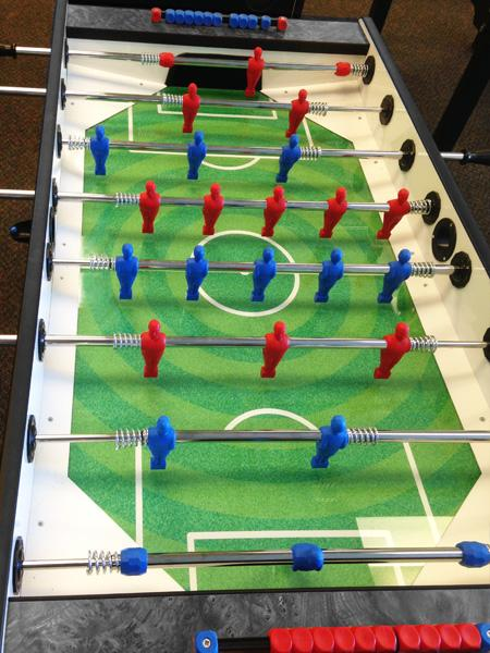 Longoni Bomber grey foosball soccer table