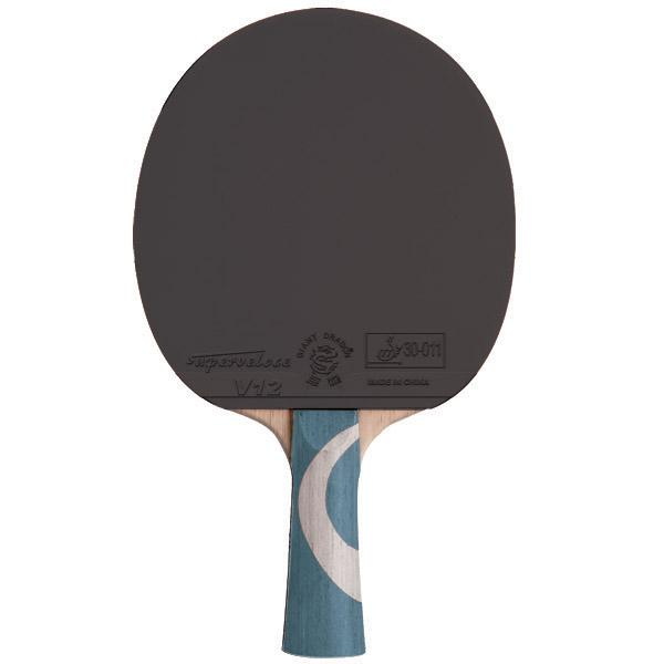 8 Star ping pong paddle with case and 2 balls