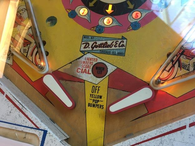 Machine à boules pinball Gottlieb Fun Land 1968 antique rare