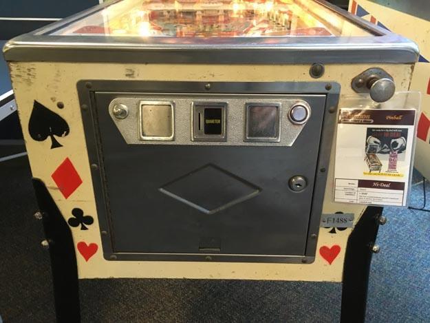 Machine à boules Bally Pinball Hi Deal antique rare 1975