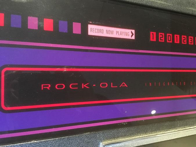 Rock-Ola antique retro Jukebox 453 model