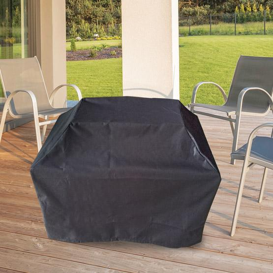 Square shaped Kingston outdoor firepit table