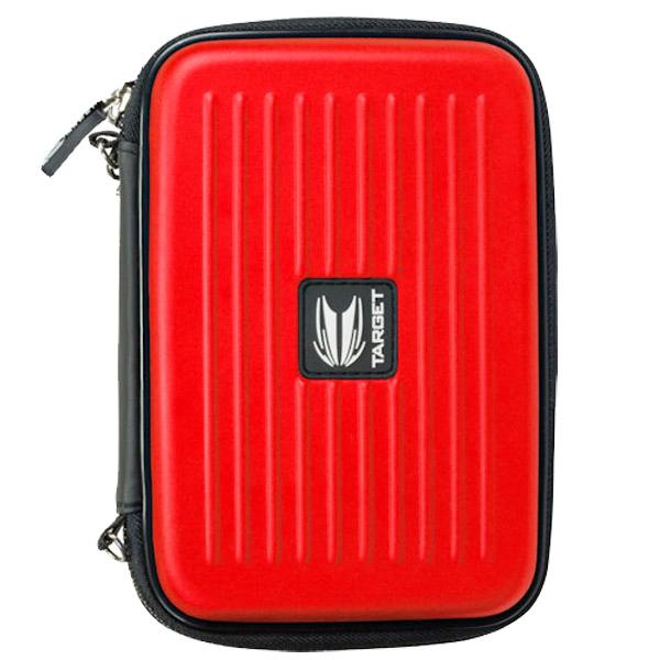 Target Takoma XL red rigid dart case for 2 sets
