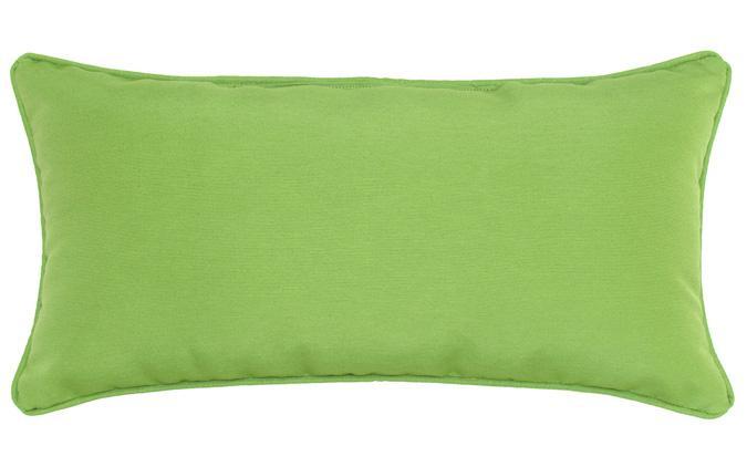 Coussin d'accent extérieur carré 12x24po vert Kiwi