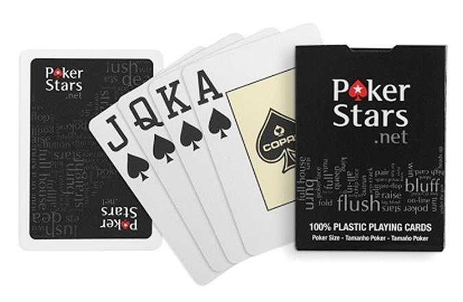 Cartes de poker en plastique PokerStars jumbo