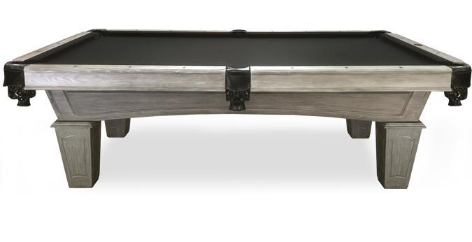 Table billard Majestic Pioneer 8 pieds fini bois de grange