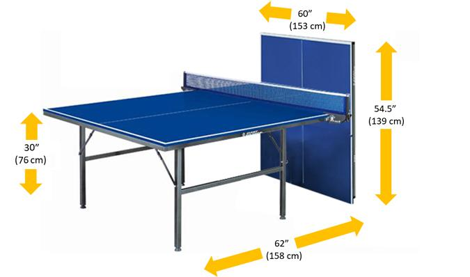 ACE 2 sturdy durable ping pong table tennis