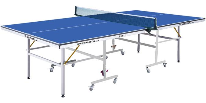 Ace 1 ping pong table for smaller room space