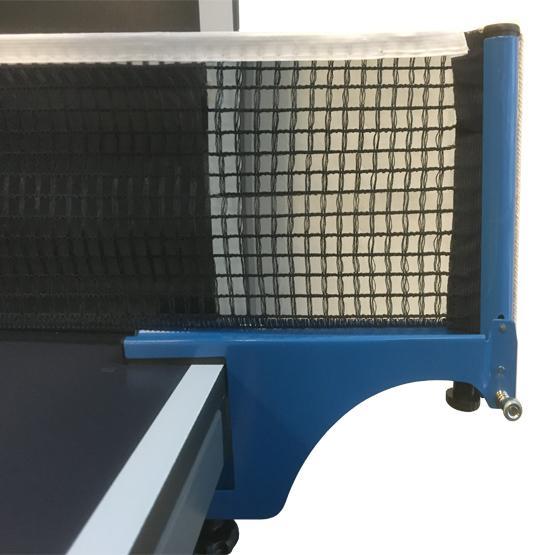 Filet et poteaux Ace 1 Bleu Cotton pour table pingpong tennis