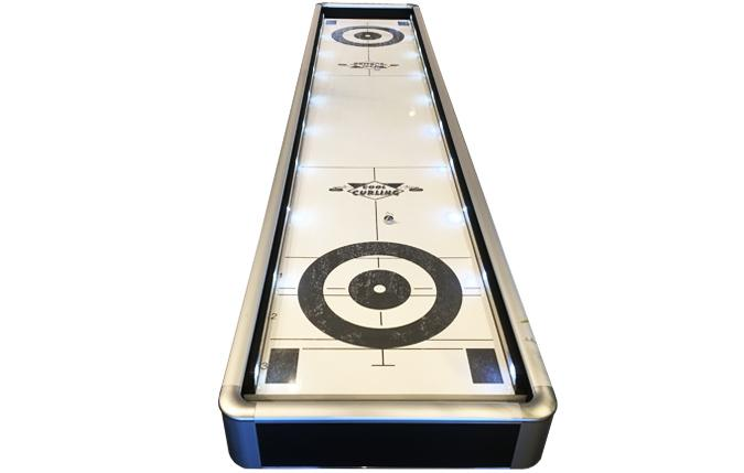 Edge II 2-in-1 Cool Curling and Shuffleboard game table