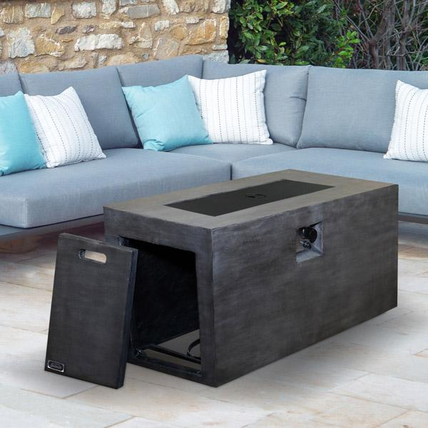 Premium quality Industrial style fire pit table