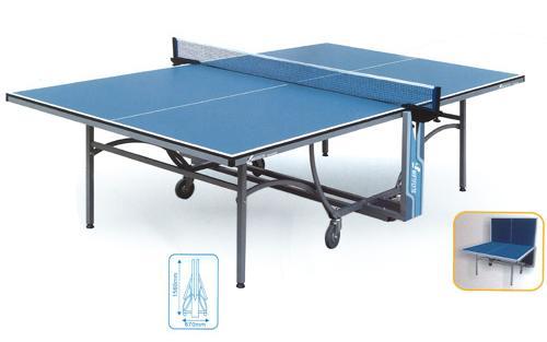 Table de tennis ping pong Magnus pliante sur 4 roues