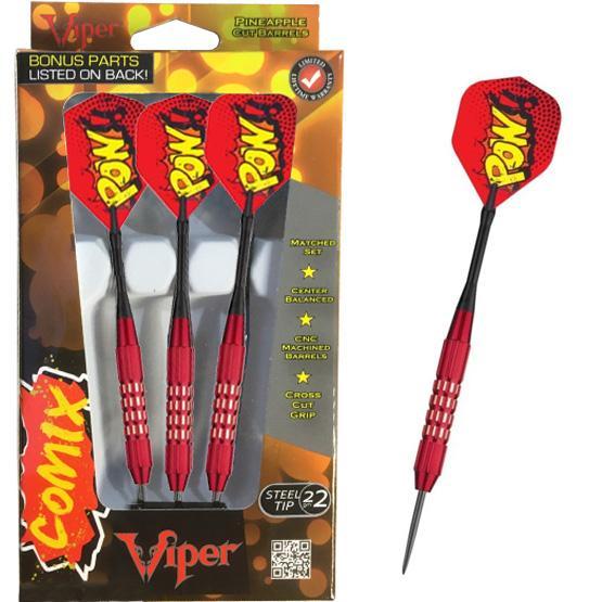 Ensemble de 3 dards Viper POW! 22g chacun