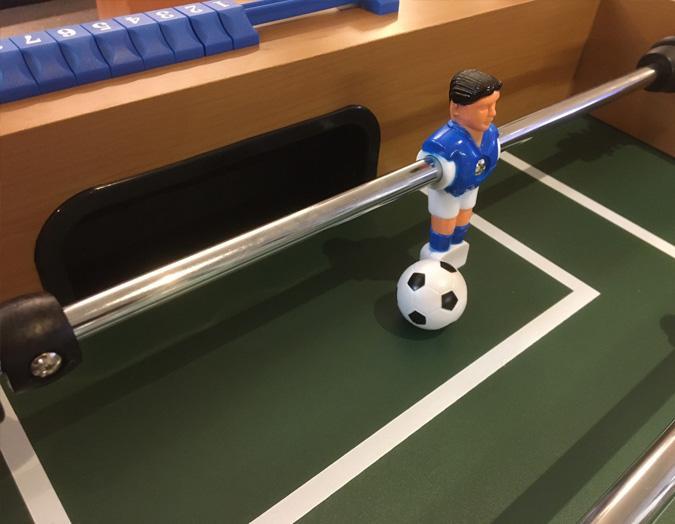 Table de soccer babyfoot simili bois Palason Champion