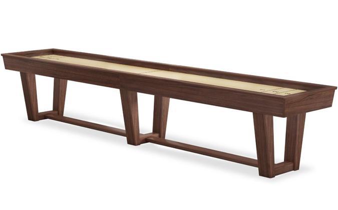 Table de shuffleboard Dublin 12 pieds en bois massif