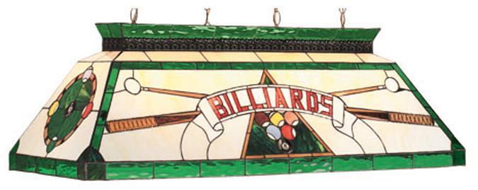 Lampe Tiffany Billiards, Verte