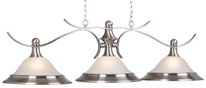 Liberty Three-Shade Billiard Lamp
