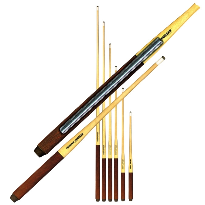 Trouble Shooter short pool cue