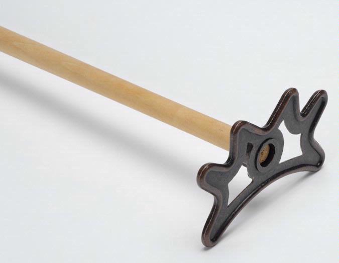 Tête de Râteau Metal Solide