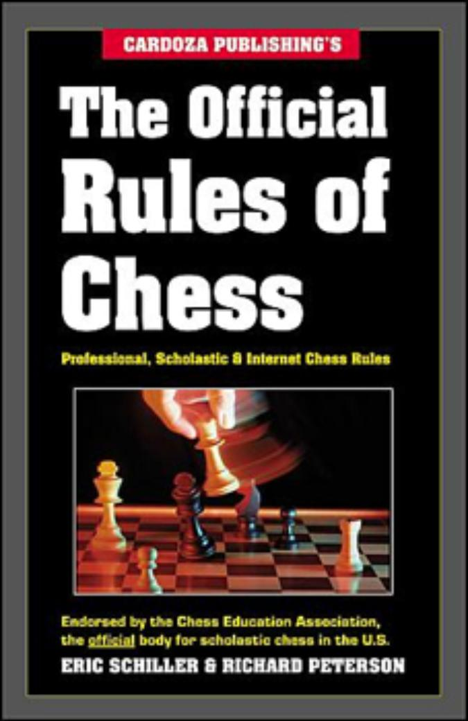 Book - The official Rules of Chess