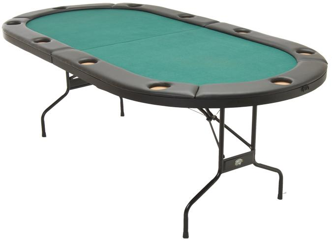 Table de poker Texas Hold'em repliable