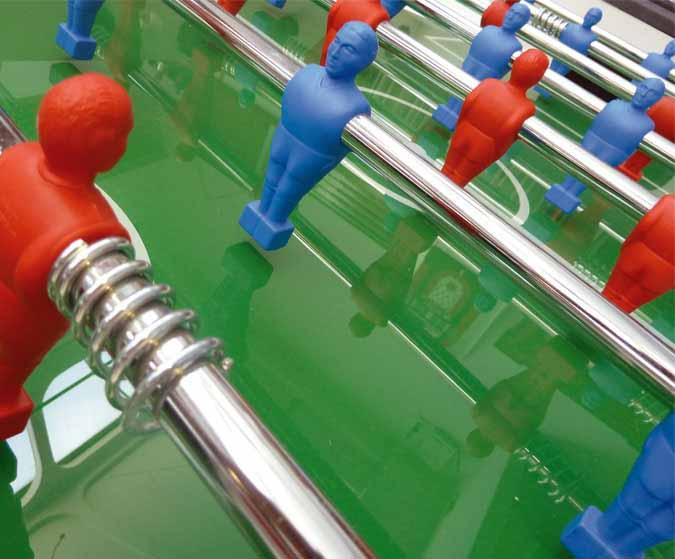 Longoni Bomber Red foosball soccer table