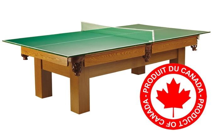 Conversion Top Palason - Surface de jeu ping pong pour dessus table de billard