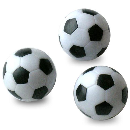 Black and White balls for Foosball Soccer table