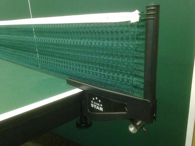 Filet et poteaux pour tennis de table ping pong Five Star