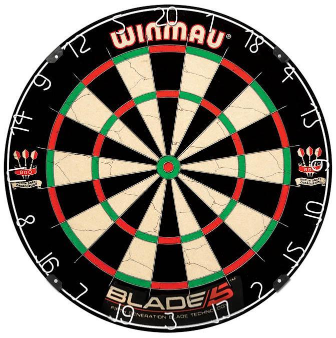 Cible de dard Winmau Blade 5