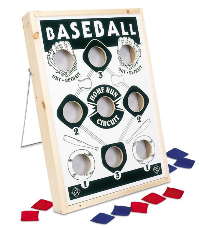 Sand Bag Baseball Game