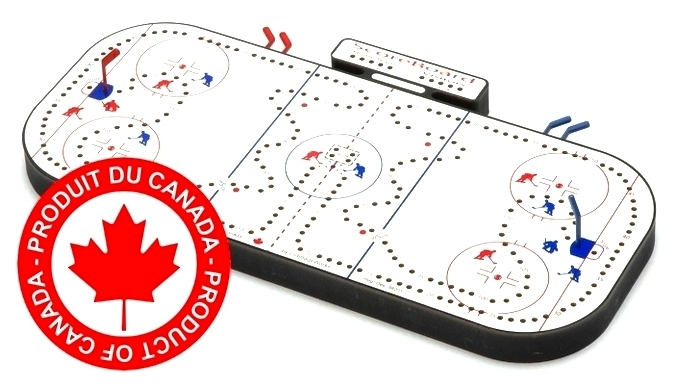Hockey Cribbage Board