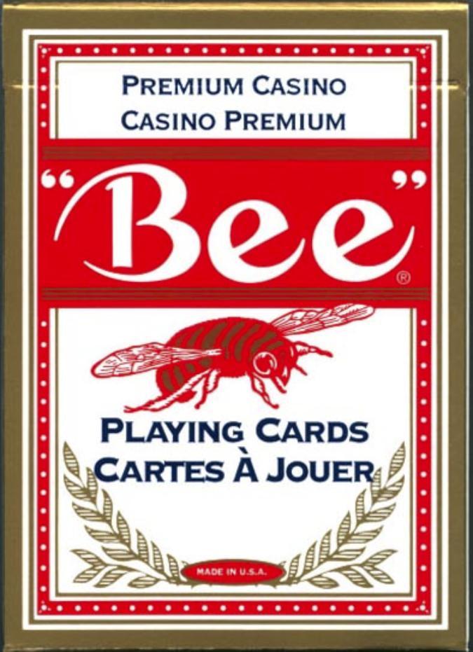 Jeu de cartes de Poker Bee