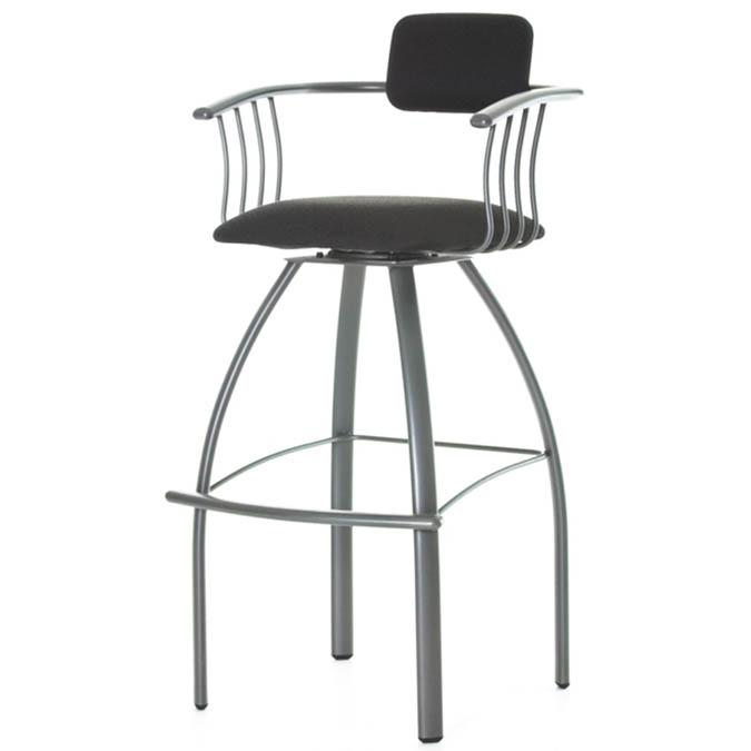 kris swivel bar stool by amisco - Amisco Bar Stools