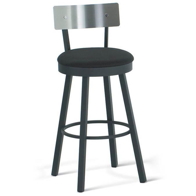 tabouret de comptoir lauren par amisco. Black Bedroom Furniture Sets. Home Design Ideas