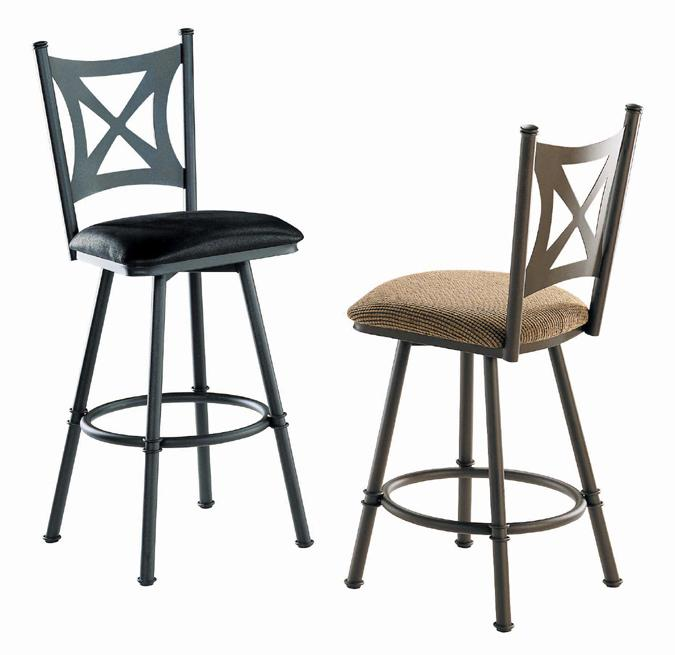 Aramis swivel kitchen stool
