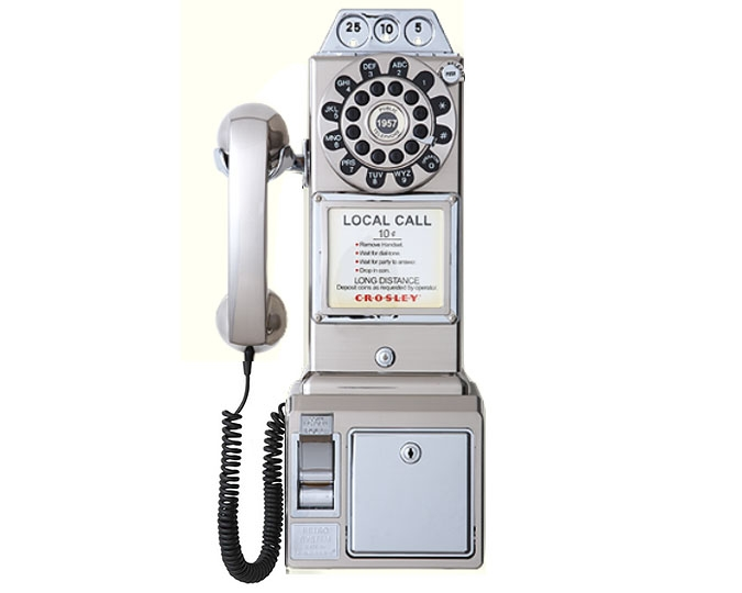 1950's Retro Phone, Chrome