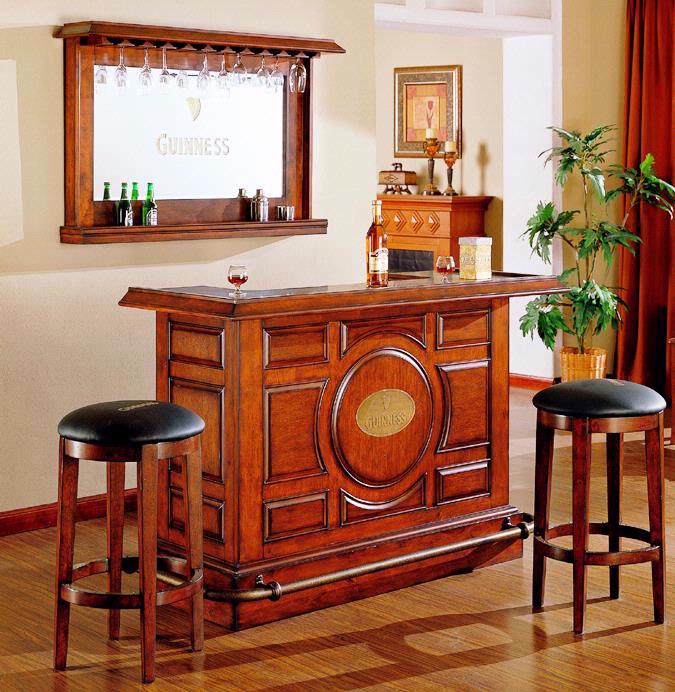 Guinness 4 Piece Bar Furniture Set