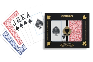 Copag Red and Blue Poker Playing Cards