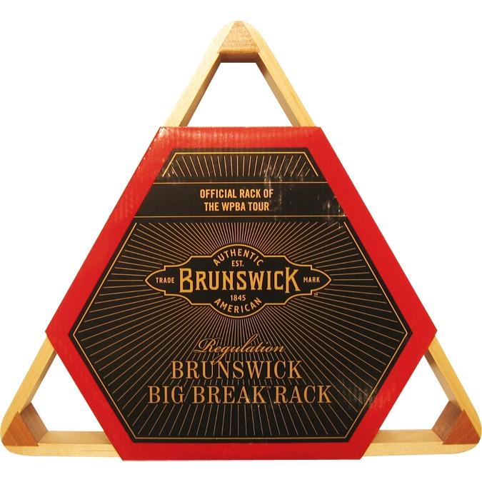 triangle de billard de marque brunswick. Black Bedroom Furniture Sets. Home Design Ideas