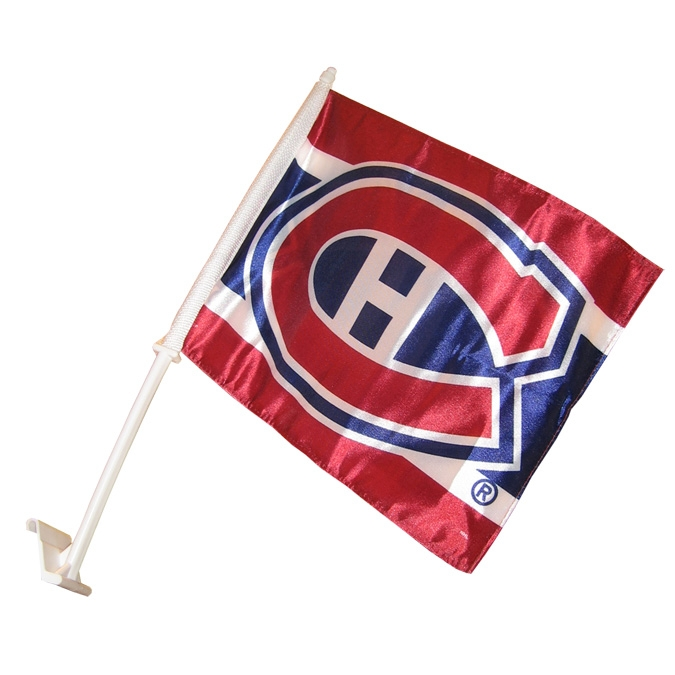 Montreal Canadiens Car Flag Habs Promotion